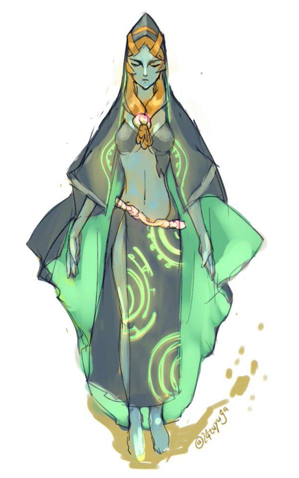 726 best royal ruler of twilight midna images on