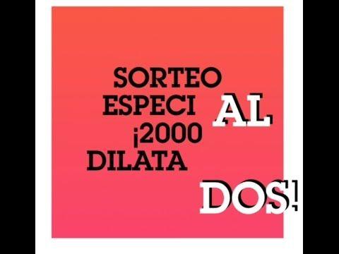 SORTEO ESPECIAL 2000 SUSCRIPTORES. GANA DILATADORES HECHOS POR MI. PARTI...