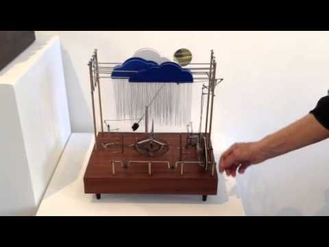 Kinetic sculpture by Bruce Campbell at McGowan FIne Art