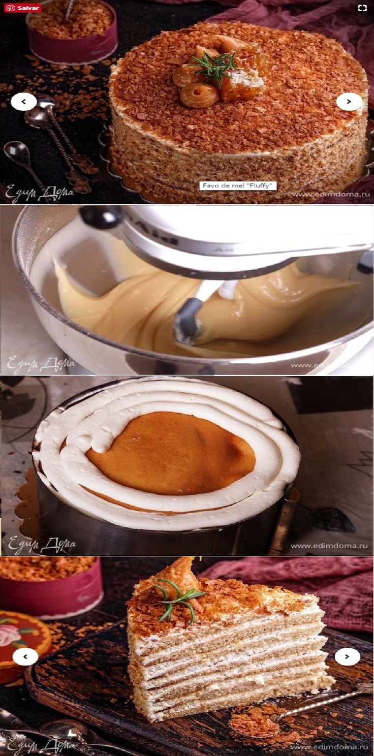 529 best bolos images on pinterest petit fours beautiful cakes bolo favo de mel passo a passo salve esse pin prepare a massa soda misturada fandeluxe Image collections
