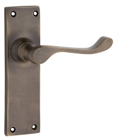 Victorian Antique Brass Lever Handle Collection