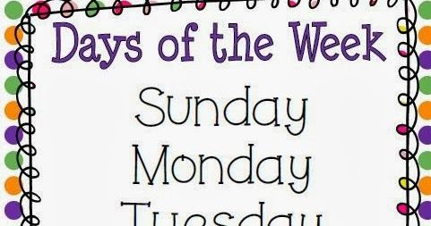 There are so many different calendar songs that can be used. Last year, I used the Addams family song for the days of the week. Days of t...