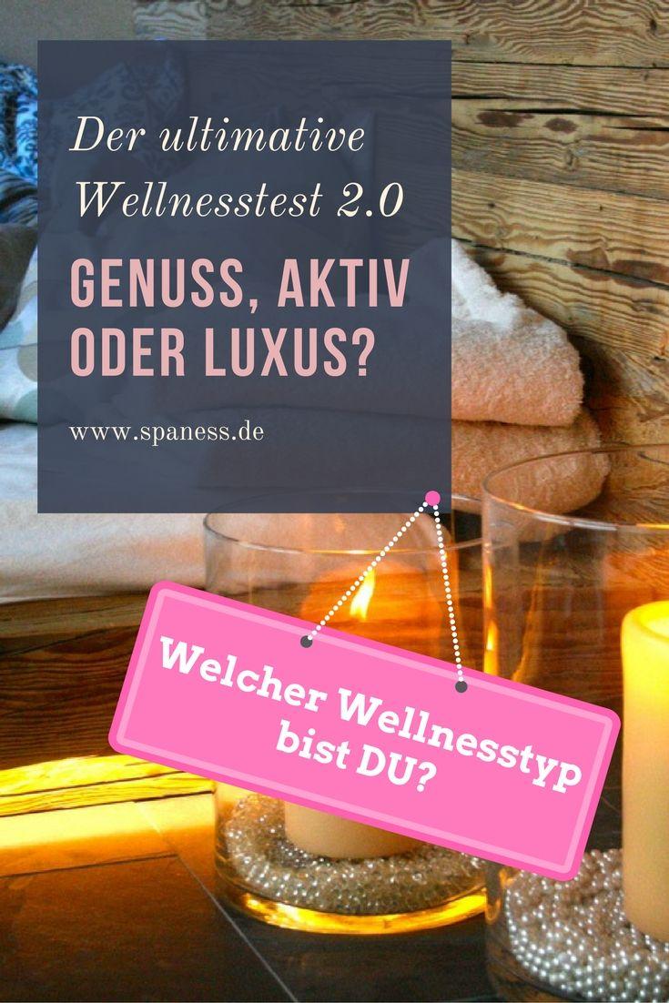 WellNess Typographi - Der große Wellnesstest - welcher Wellnesstyp bist DU?