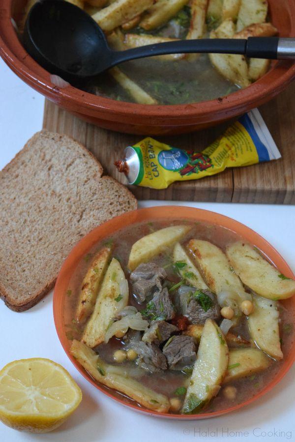 Batata Koucha Recipe   Halal Home Cooking