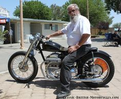 Choppers and Bobbers built from Classic British Motorcycles w/eye-popping photos, specs, history.  The complete online index of all Classic British Motorcycles, Auctions, Shows, Rides & Events.