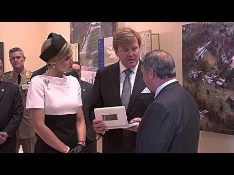 Dutch Royal Visit to Arlington National Cemetery