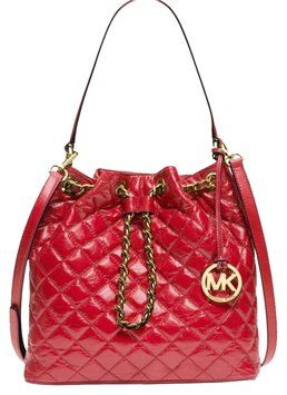 Michael Kors Frankie Quilted Shoulder Bag. Get one of the hottest styles of the season! The Michael Kors Frankie Quilted Shoulder Bag is a top 10 member favorite on Tradesy. Save on yours before they're sold out!