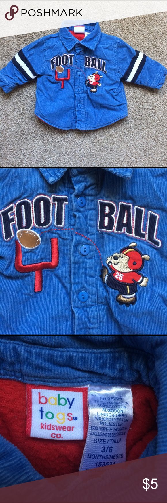 Corduroy Football Jacket Good condition Jackets & Coats