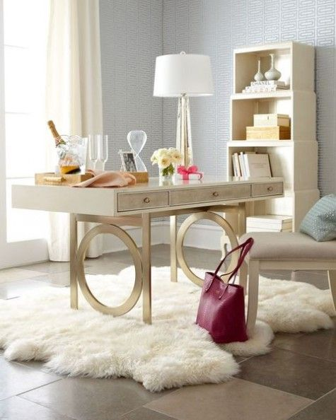 ComfyDwelling.com  Blog Archive  73 Refined Feminine Home Office Decor  Ideas