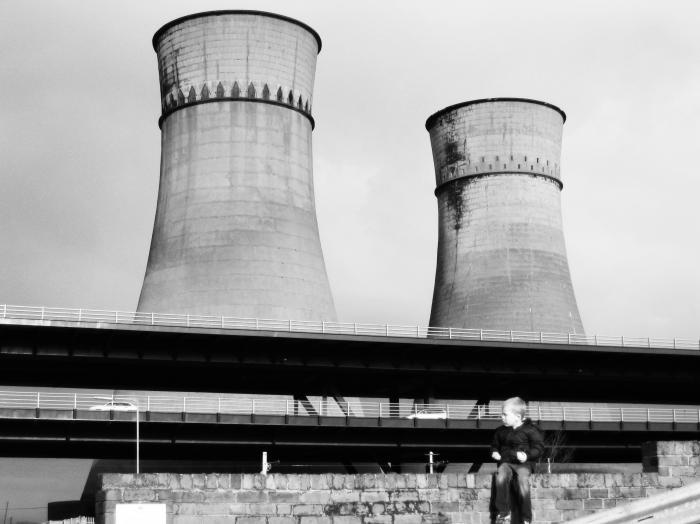 The Tinsley Cooling Towers were considered as one of Sheffield most iconic landmarks until their demolition in 2008. They have since been immortalized in countless works of art by local artists.