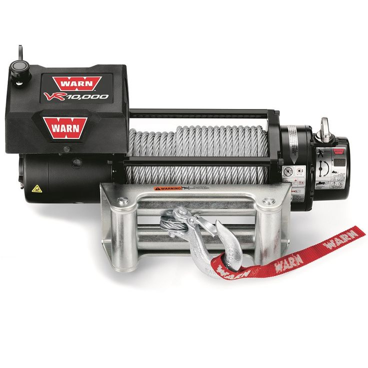 WARN VR10000 Truck Winch, 80' Wire Rope, Part No. 86255