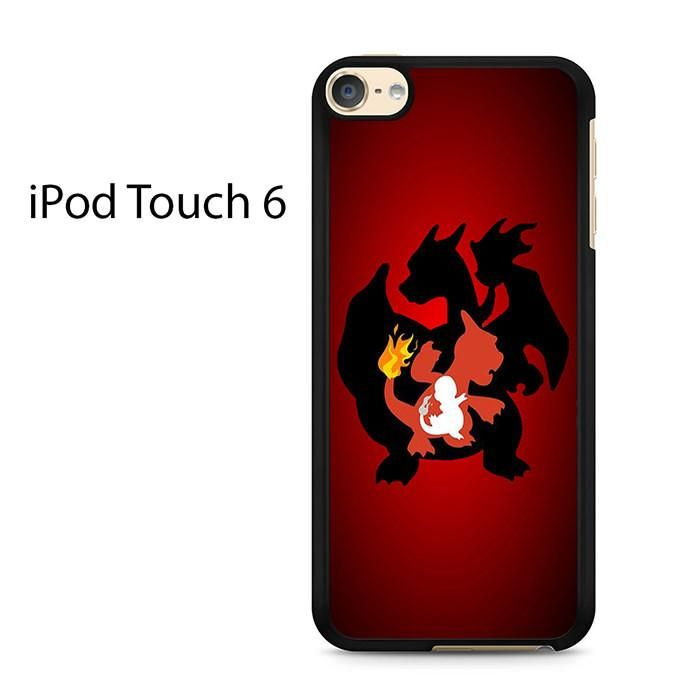 Charizard Evolution Ipod Touch 6 Case
