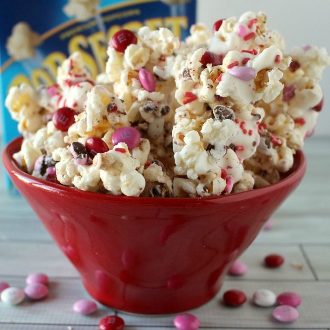Sweet and salty – it is my favorite combination ever! One of my favorite treats is popcorn and m&m's – it is always what I get when I go to the movies – I have been known to pourmy m&m's into my buttery popcorn! So when my sister-in-law, Jodie, introduced me to the deliciousness of …