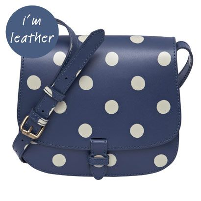 BUTTON SPOT SMALL LEATHER CROSS BODY BAG / Buy it, Borderlinx will ship it to you.  http://www.borderlinx.com/