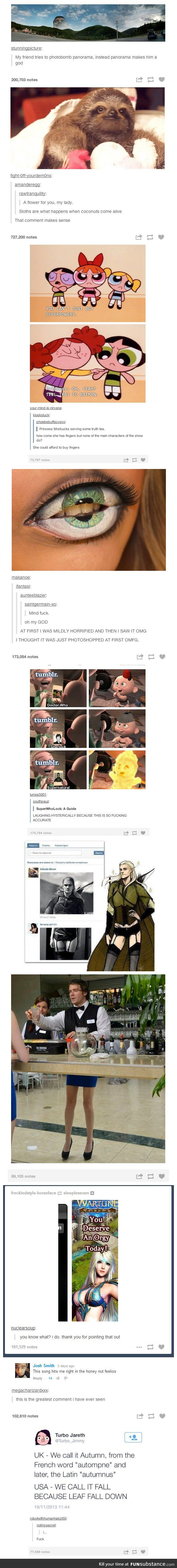 Another Tumblr compilation----The powerpuff girls post made me literally reconsider the entire show.