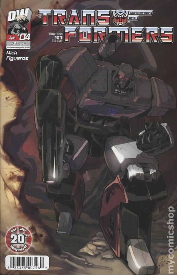 Transformers Generation 1 (2003 Volume 3) 4B Image Comics book covers Modern Age 4