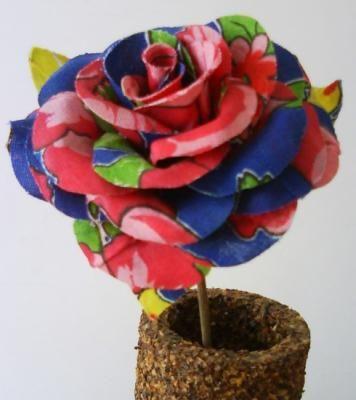 rosa para decoração rosas tecido 100% algodão,haste de coqueiro recorte - golfragem,impermeabilização