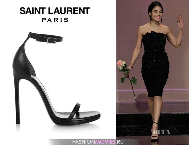 "на Ванессе Хадженс босоножки Saint Laurent модель ""Jane"""
