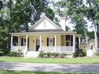 1286 sf great retirement cottage floorplan with space for office and guest room.