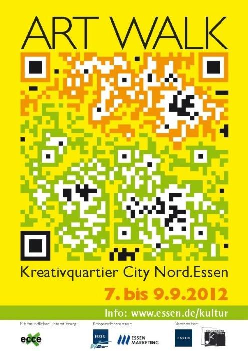 #QR-Code zum ART WALK Essen, Unperfekthaus