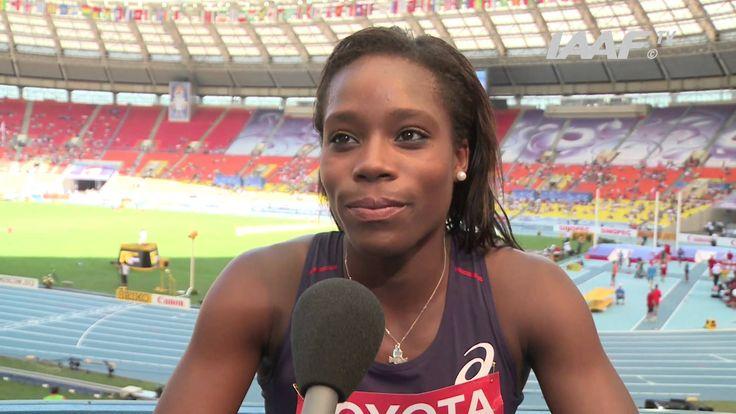 Stella Akakpo en plein interview  #teambenestar #stellaakakpo #athletisme #benestar #benestarfrance