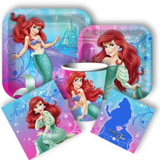 Little Mermaid Party Supplies: Little Mermaid Birthday Decorations, Invitations, and Party Favors