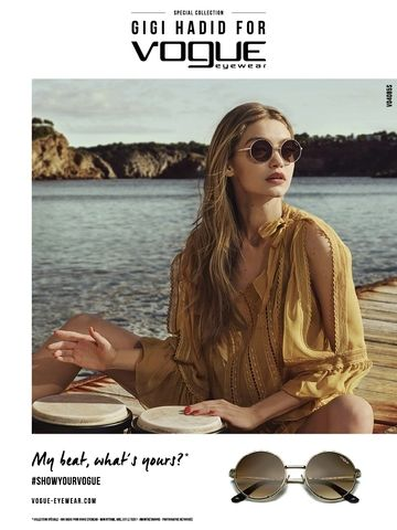 f2866689259 GIGI HADID COLLECTION 2018 BY VOGUE 4085 GOLD AND ROUND AVAILABLE IN OUR  STORE  OptikaGazou  Kalambaka  Meteora  Greece
