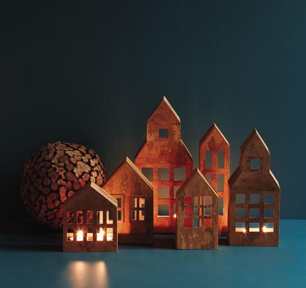 Kanelhus til fyrfad | Cinnamon houses