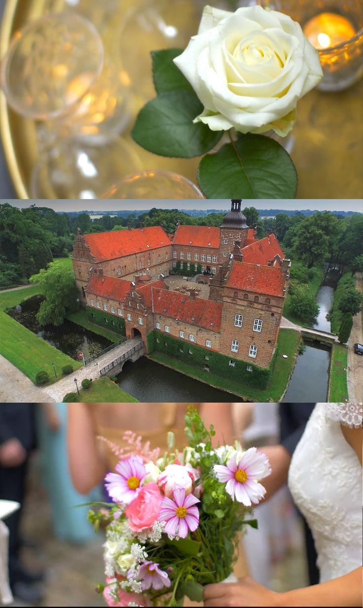 Beautiful wedding at Holckenhavn Castle in Denmark. Shot and filmd by Noofoo Media - www.noofoo.com #wedding #marriage #bouquet #castle #magic #beautiful #fantastic #royal #highend #high-end #design #interior #flower #video #photography