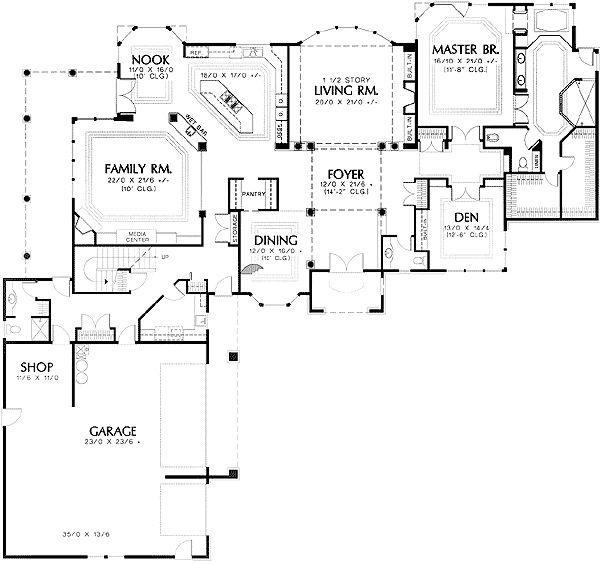 17 Best Ideas About L Shaped House Plans On Pinterest L