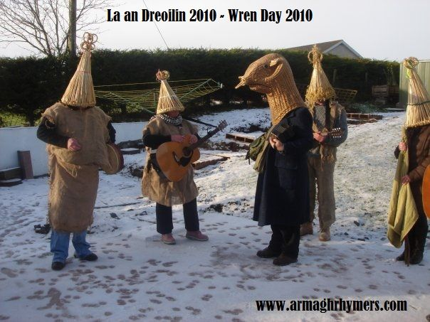 La an Dreoilin 2010 - Wren Day (House visiting tradition) 2010