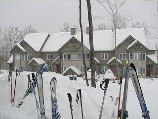 Luxury Ski-in/Ski-out Jay Peak Resort Village CondoVacation Rental in Jay Peak from @homeaway! #vacation #rental #travel #homeaway