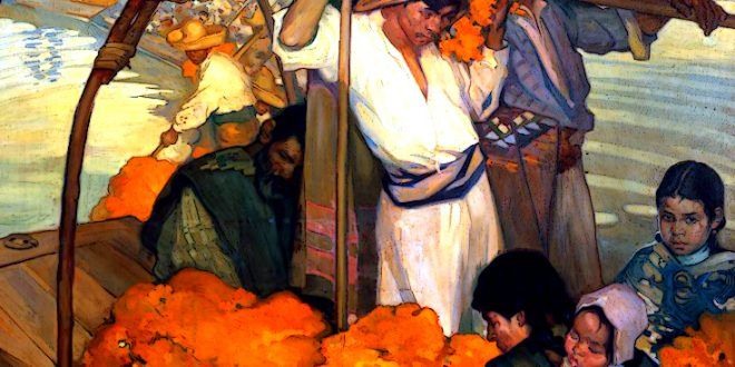DEVELOPING HIS OWN EXCELLENT EYE FOR COLOR – Saturnino Herran, the early extinguished brightness – Meeting Benches
