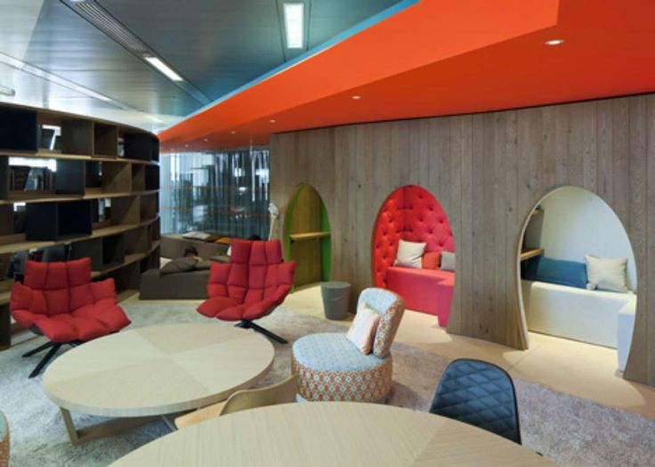 google office furniture. Google\u0027s New London HQ Surprises With Wool, Tweed, And Rocking Chairs - Architizer Google Office Furniture