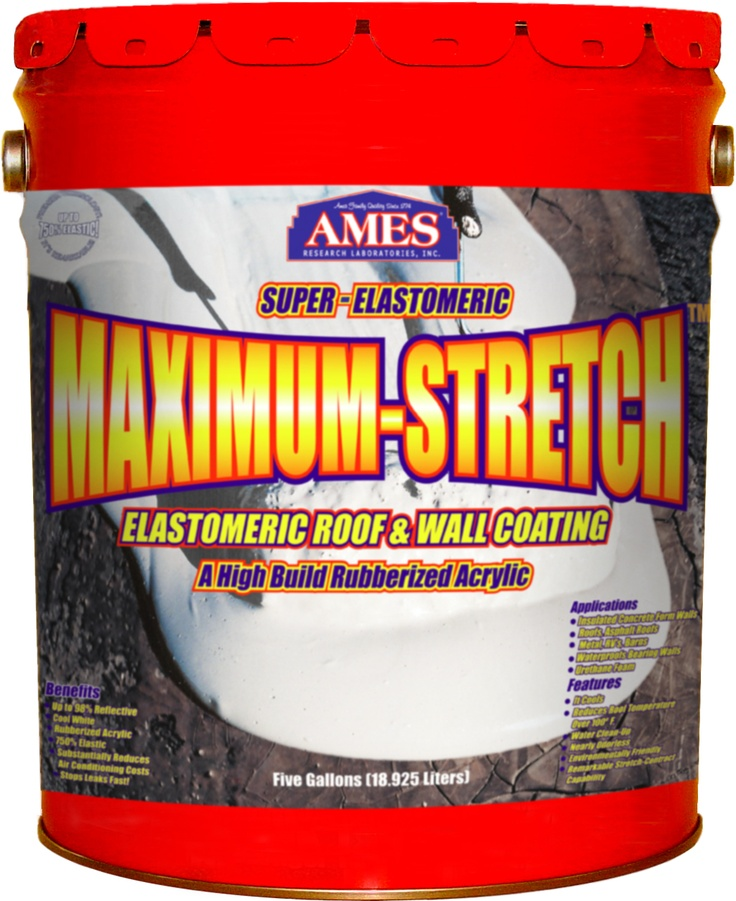 Superior Maximum Stretch Is Perfectly Designed For Waterproofing Any Roof. It  Adheres To Most Surfaces, Reflects Light To Regulate Temperature,and With  Its ...