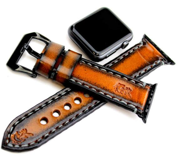 This listing is for the WATCH STRAP BAND only, Apple Watch is not included. All the Apple Watch bands are available in two sizes for 38mm and 42mm Apple Watch models, and included silver or black adapter ensures the bands works well with your smartwatch. The adapters are the