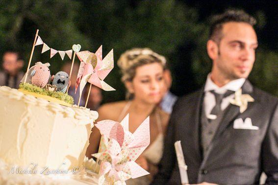 Cake Topper uccellini e girandole <3 @Michela Zucchini Fotografia