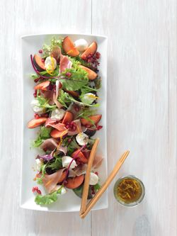 Parma Ham and Plum Salad