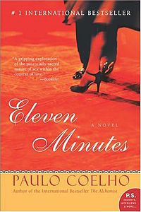 "Eleven Minutes (Portuguese: Onze Minutos) is a 2003 novel by Brazilian novelist Paulo Coelho based on the experiences of a young Brazilian prostitute called Maria, whose first innocent brushes with love leave her heartbroken. At a tender age, she becomes convinced that she will never find true love, instead believing that ""love is a terrible thing that will make you suffer...."". When a chance meeting in Rio takes her to Geneva, she dreams of finding fame and fortune yet ends up working as a…"