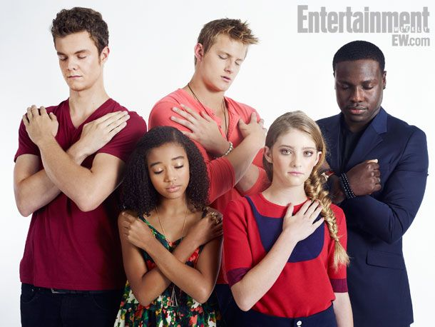 Oh god!Amandla Stenberg, Dayo Okeniyi, Comics Con, Jack Quaid, Hungergames, Alexander Ludwig, Thresh Hunger Games, Willow Shields, The Hunger Games Cast