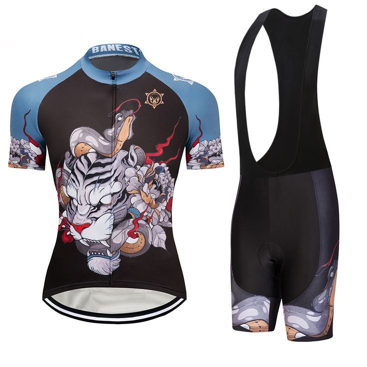 2018 Banesto Tiger play snake SHORT SLEEVE CYCLING JERSEY SUMMER CYCLING WEAR ROPA CICLISMO+ BIB SHORTS. Yesterday's price: US $48.00 (39.69 EUR). Today's price: US $25.92 (21.43 EUR). Discount: 46%.