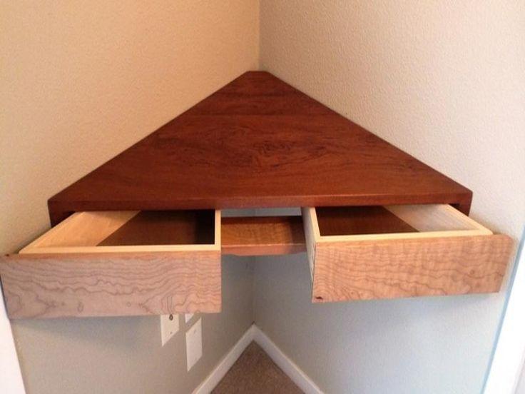 best 25 floating corner shelves ideas on pinterest corner shelves floating corner desk and. Black Bedroom Furniture Sets. Home Design Ideas