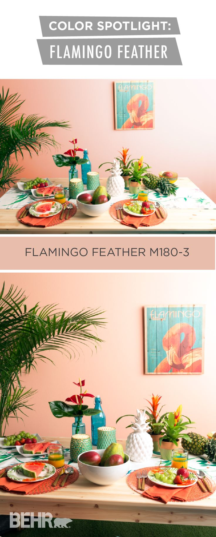 580 best new home inspiration images on pinterest autumn for Flamingo feather paint