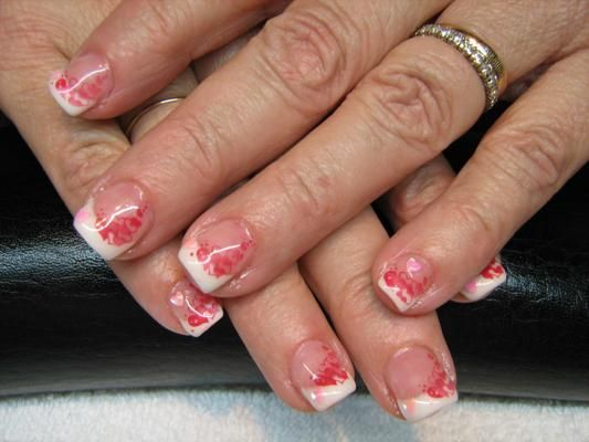 93 best nail design images on pinterest style fashion and make up acrylic nail designs for valentines prinsesfo Images