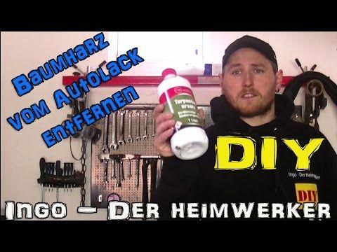 ► Harzflecken entfernen - Baumharz vom Auto/Fahrzeug entfernen - Harzfle...