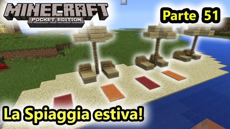 Minecraft PE - La Spiaggia estiva! - Android - (Salvo Pimpo's)