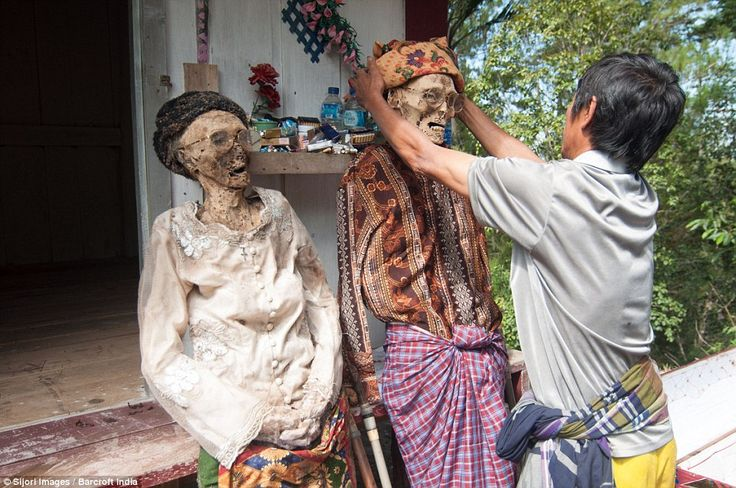 Toraja death practices