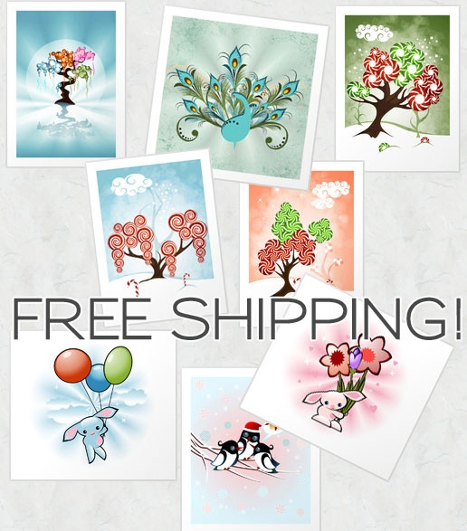 FREE Shipping, worldwide! for my Society6 products! - Ruxique's Blog