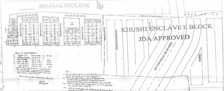 Salasar Enclave Jaipur Jda Approved Plots for Sale Jaisinghpura Ajmer Road
