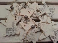 Pasja dekorowania                                                 : Aniołki na choinkę